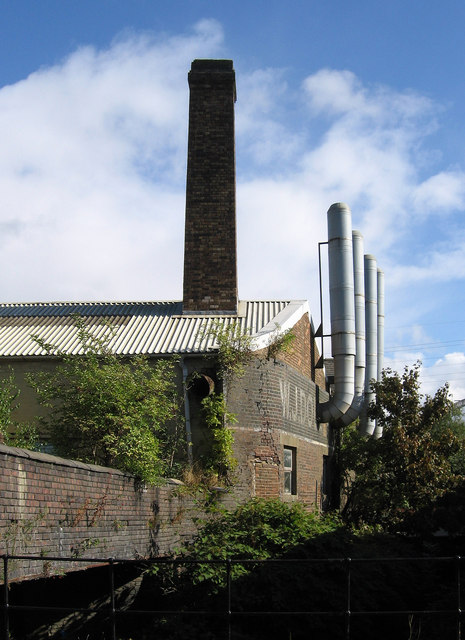 Stoke-upon-Trent - factory chimneys