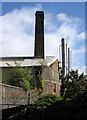 SJ8845 : Stoke-upon-Trent - factory chimneys by Dave Bevis