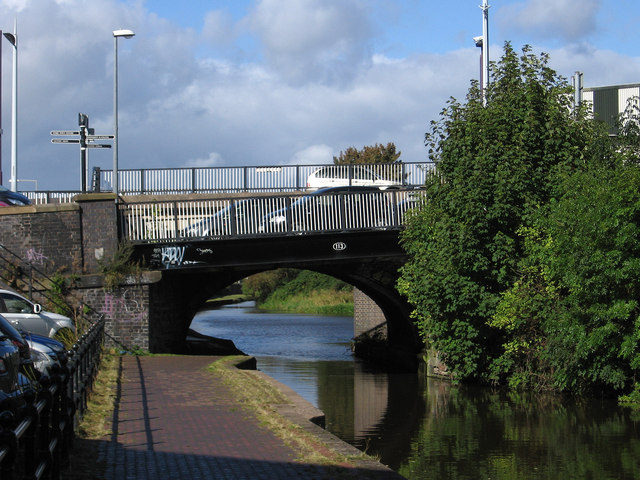 Stoke-upon-Trent - Glebe Street bridge