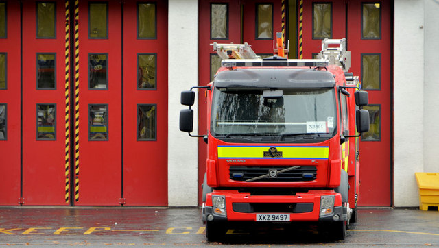 Fire appliance, Ballyclare