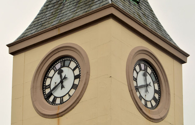 Two clocks, Ballyclare