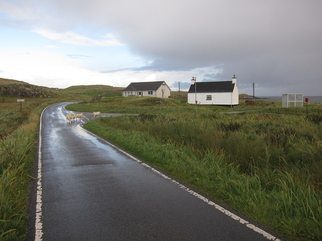 A888 loop road, Barra