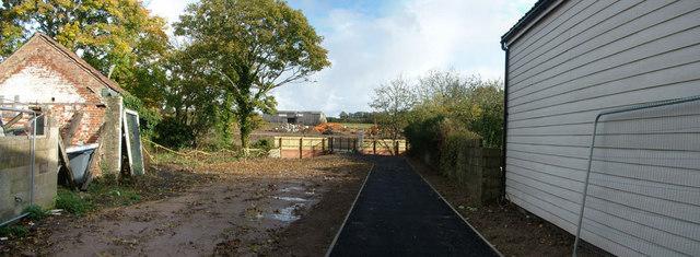 New path, new cladding