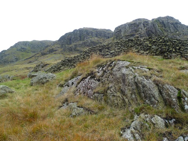 Wall under Harter Fell