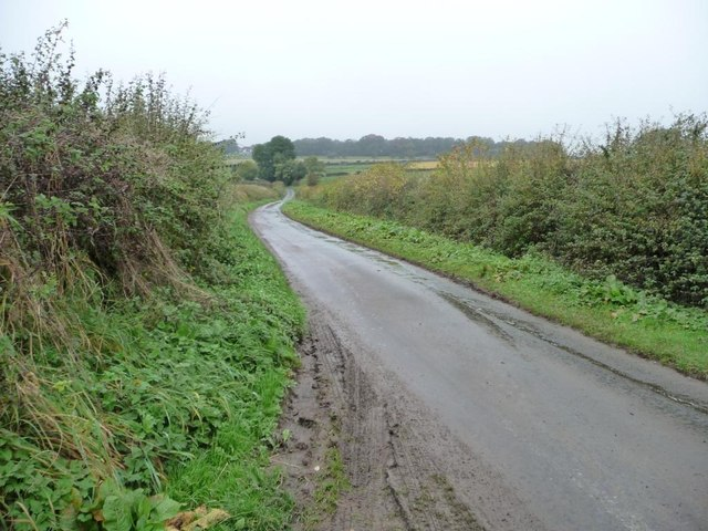 The road to Houghton-le-Side