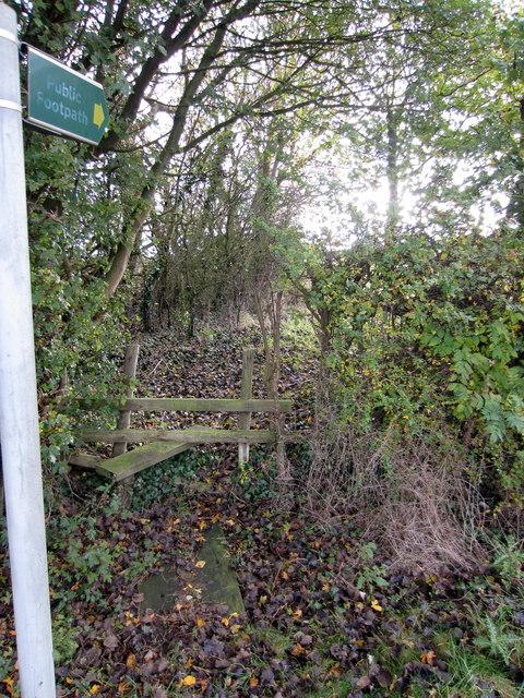 Path to Thornborough