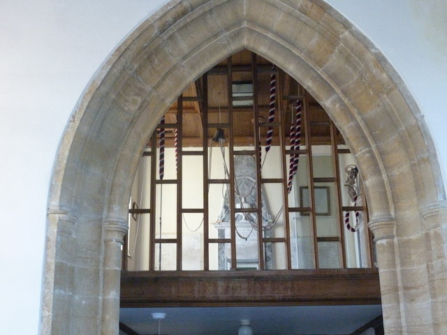 Inside Melbury Osmond Church  (II)