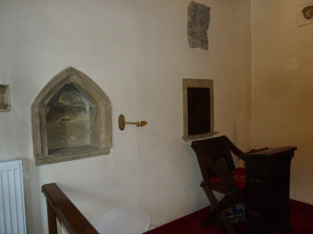 Inside Melbury Osmond Church  (V)
