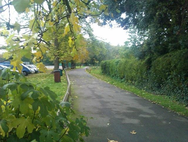Path into Belair Park