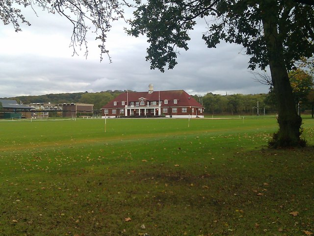 Playing fields and sports pavilion, Dulwich College