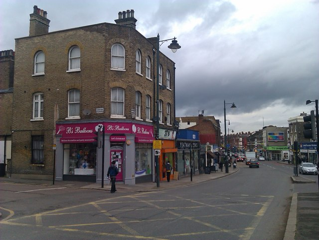 Shops in Norwood Road