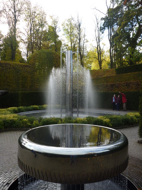 The Alnwick Garden : The Water Sculpture Park