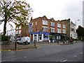 TQ2874 : Clapham Park, shopping parade by Mike Faherty