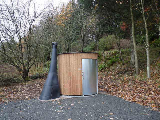 Waterless toilet, Stonehaugh Forest Picnic Site