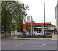 TQ3376 : Total Petrol Station Peckham Road London by PAUL FARMER