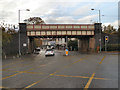 SJ8590 : East Didsbury, Wilmslow Road Railway Bridge by David Dixon