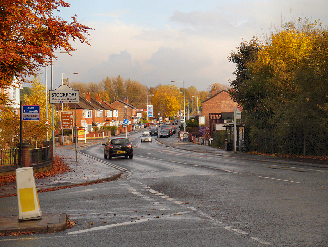 A5145 (Parrs Wood Lane/Didsbury)