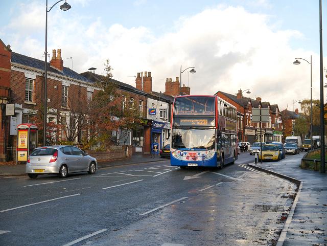 Heaton Mersey, Didsbury Road