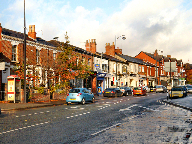 Didsbury Road, Heaton Mersey