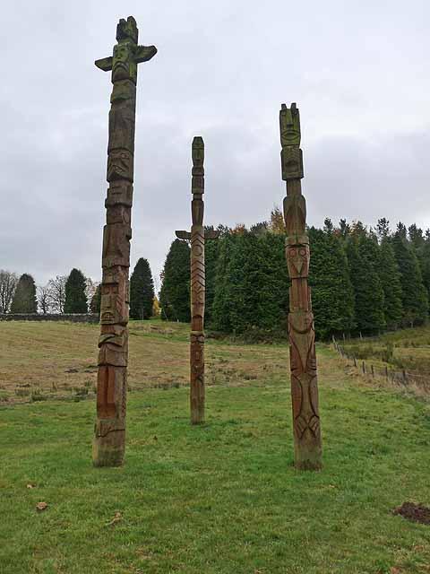 Totem poles, Stonehaugh
