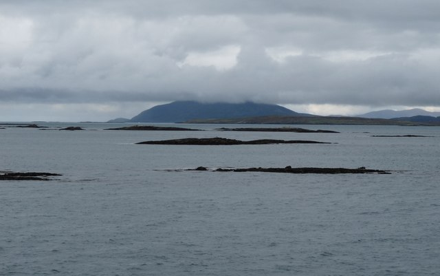 A scattering of skerries in Sound of Harris