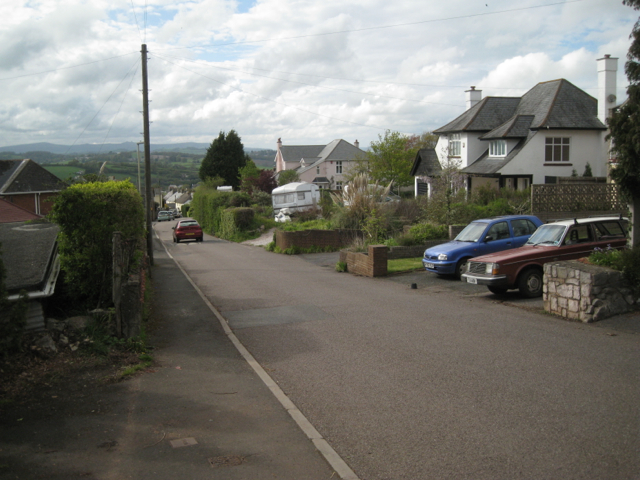 View down Fluder Hill