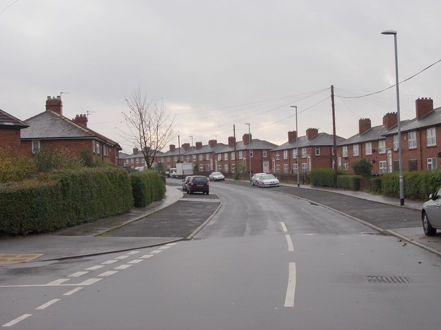 Sissons Road - viewed from Sissons View