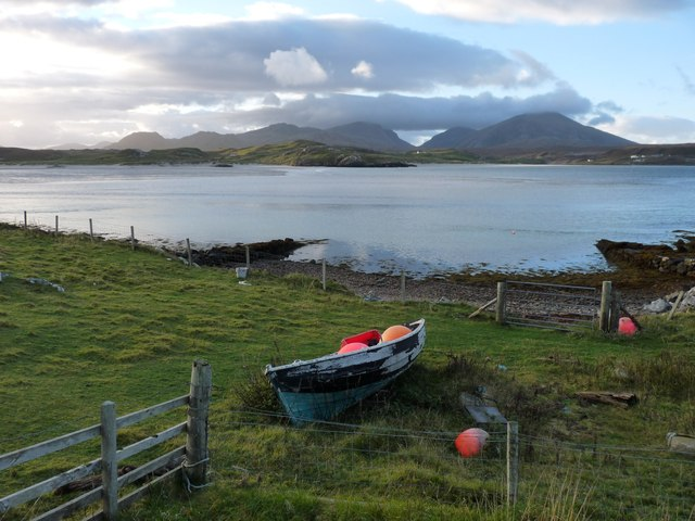 Small boat haven at Cradhlastadh