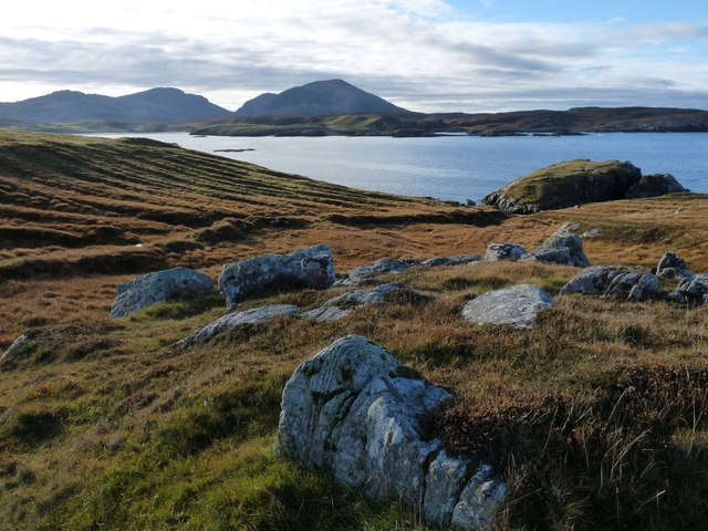 Old lazy-beds at Cradhlastadh