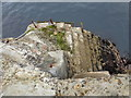 NA7246 : Flannan Isles: landing stage steps by Chris Downer