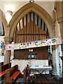 SK7963 : St Mary's Church, Carlton-on-Trent, Organ by Alexander P Kapp