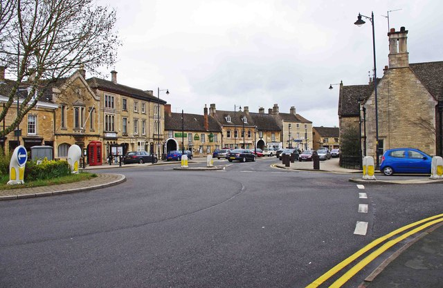 Looking towards the High Street, Market Deeping