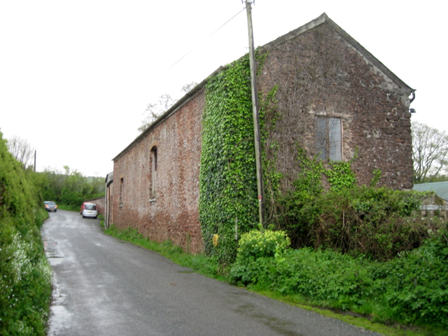 Barn by Aller Brook House