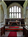 TL1864 : St Leonard's Church Southoe, Chancel by Alexander P Kapp