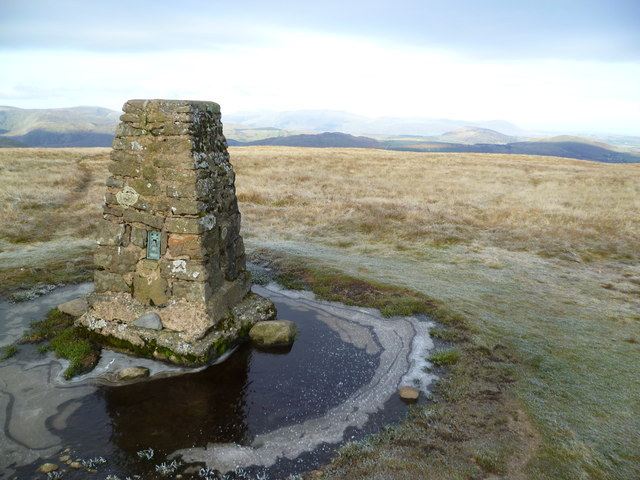 Trig Pillar, Loadpot Hill