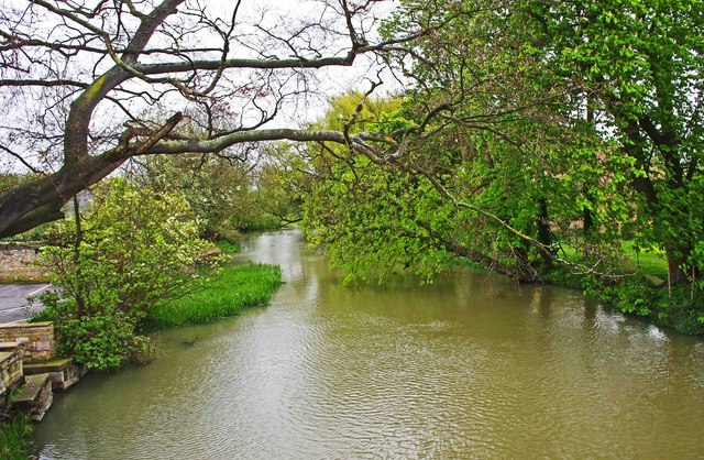 River Welland looking east, Market Deeping