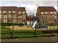 SK6105 : Play Area off Moreton Road by Alex McGregor
