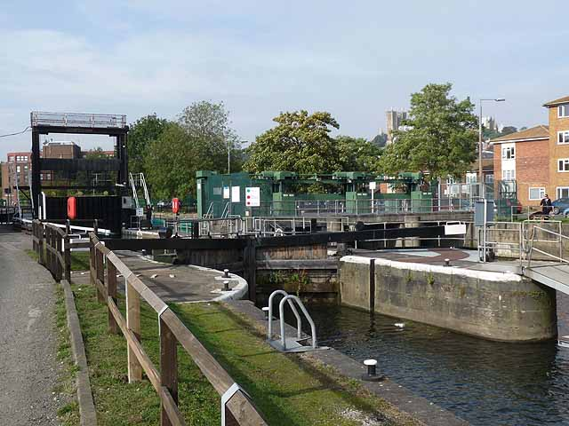 Stamp End lock, River Witham