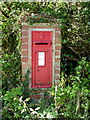 SW6845 : Victorian wallbox at Cambrose by Richard Law