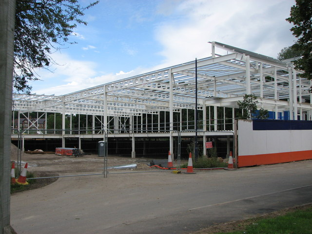 Supermarket construction, Morpeth