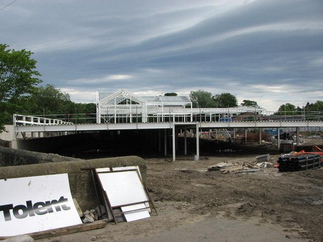 Morrisons new Supermarket, Morpeth
