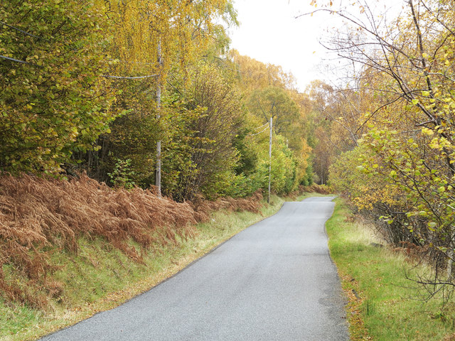 B846 on north side of Loch Rannoch