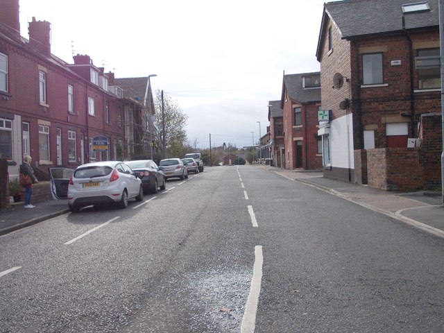 Stanhope Road - viewed from Station Lane