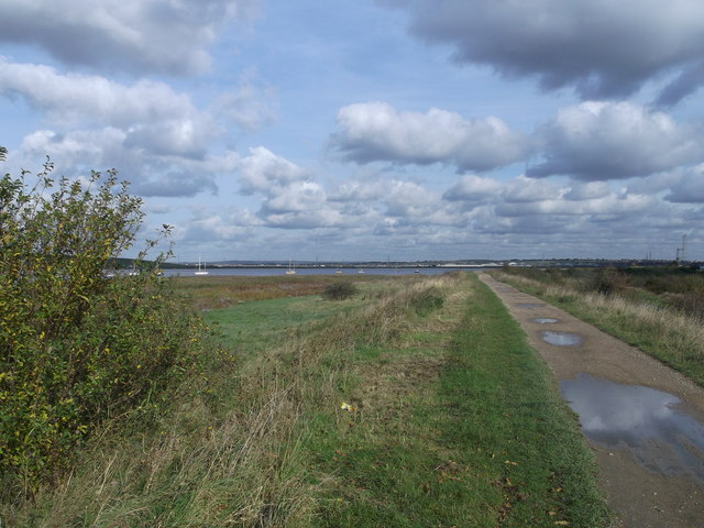 Thames Path to Crayford Ness