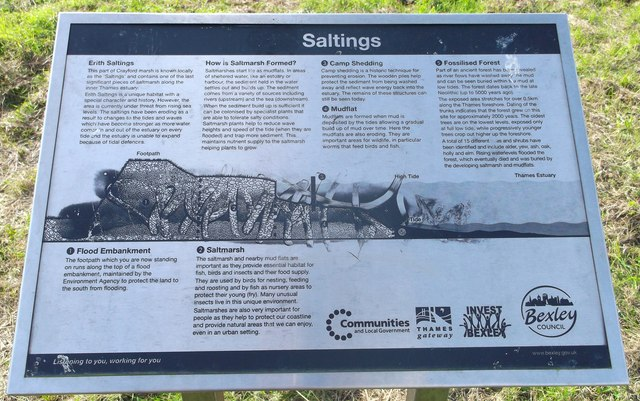 Erith Saltings Information Board