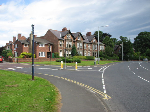Road junction, Morpeth