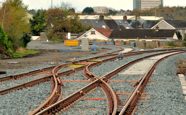 Railway junction, Coleraine