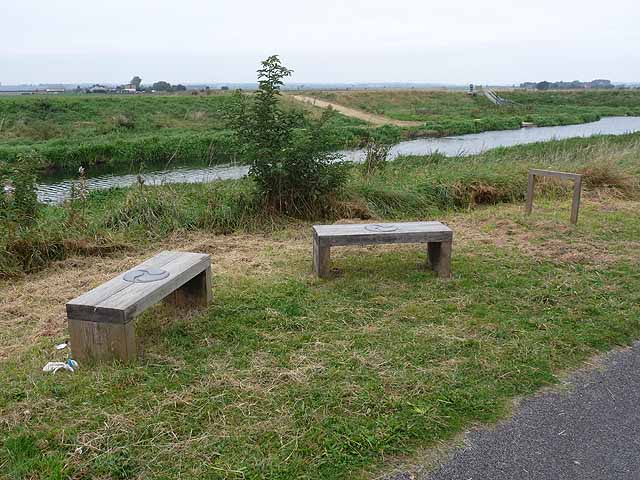 Benches by the Water Rail Way