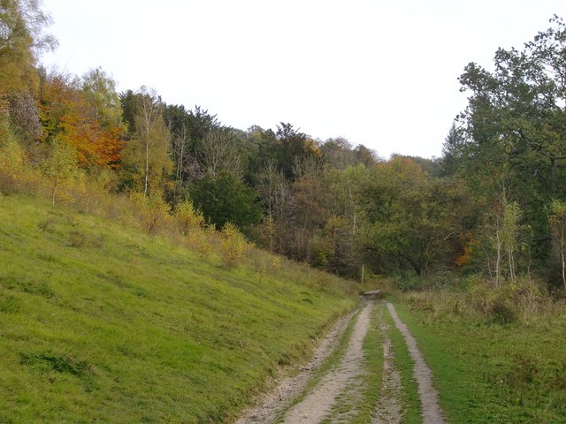 Bridleway along Juniper Bottom