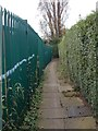 SE2925 : Footpath - Eastleigh Drive by Betty Longbottom